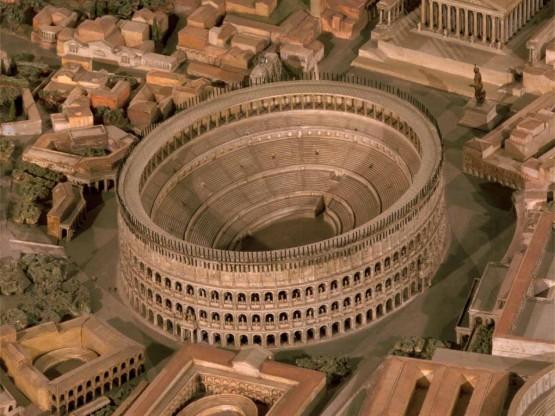 Така е изглеждал Колизеумът на времето