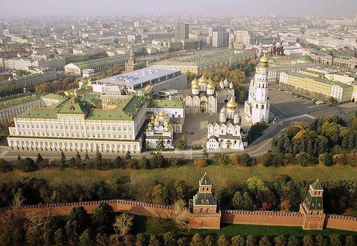 Кремъл отгоре