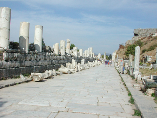 Главният път в Ефес