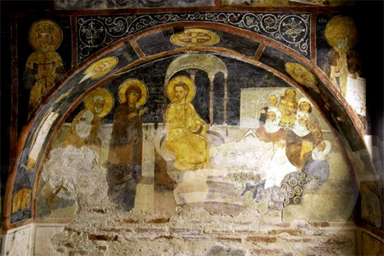 Стенописи в Боянската църква