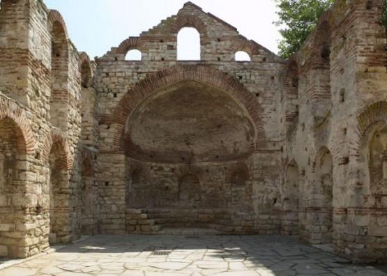 Снимка от древния Несебър