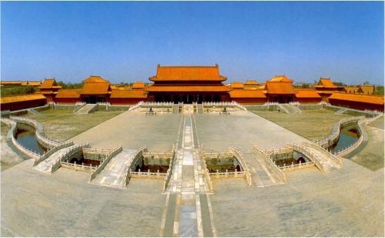 Императорският дворец в Пекин