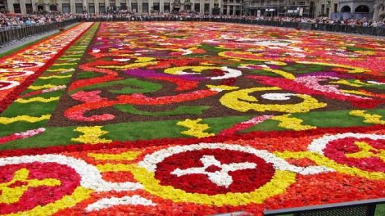 Килимът на цветята в Брюксел