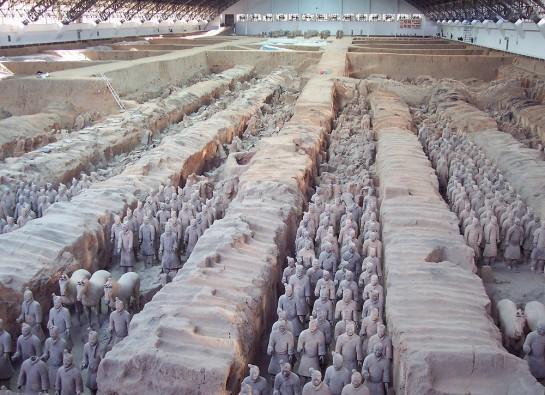 Теракотената армия е включен в списъка на Юнеско за световно природно и културно наследство.