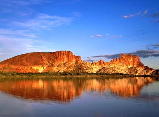Гледка към Сините планини в Австралия
