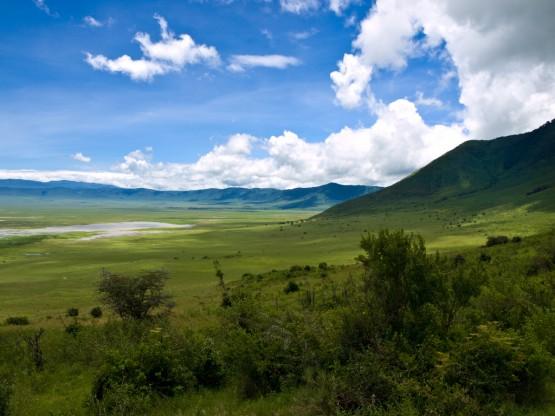 Гледка от Нгоронгоро
