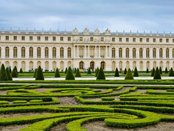 Версайския дворец отпред