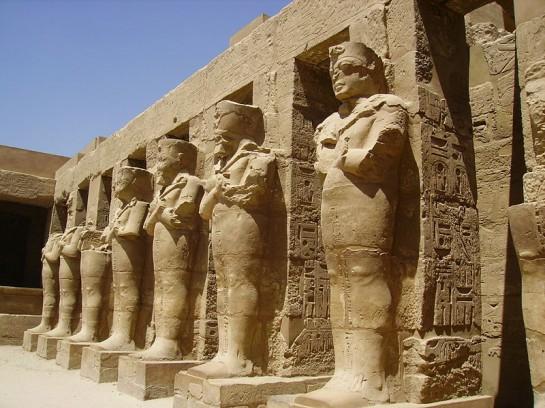 Религиозният комплекс в Карнак е един от най - посещаваните места в Египет