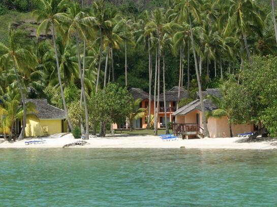 Курортно селище на брага на остров Бора Бора