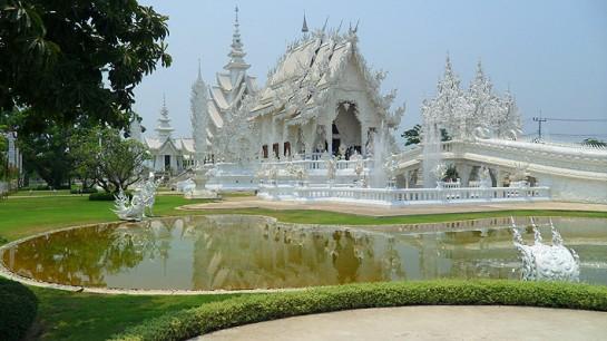 Ват Ронг Кхун - символизира рая
