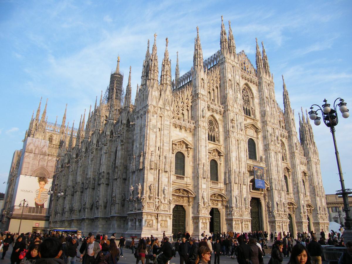 Уникалната Миланска катедрала