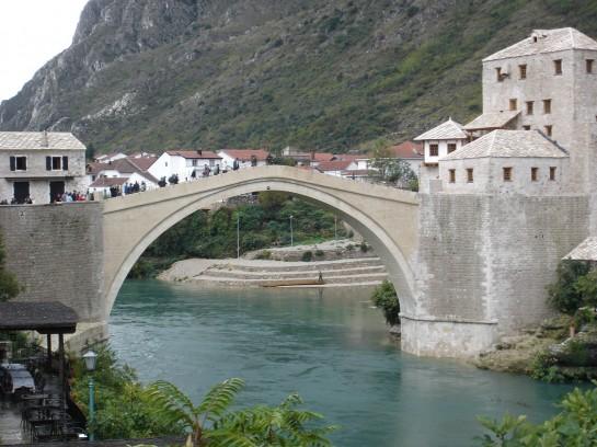 Мостът Мостарт в областта Херцеговина