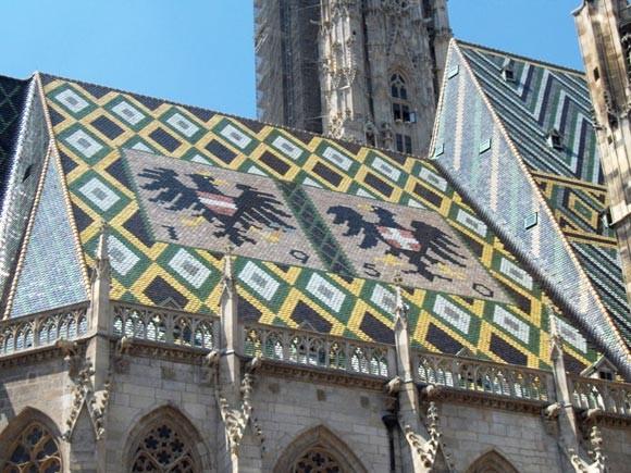 Катедралата Свети Стефан - украса на покрива