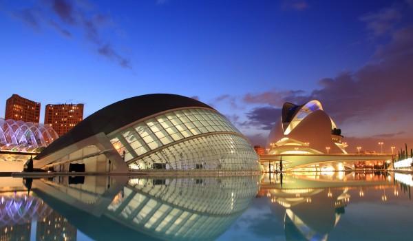 Паркът Град на изкуството и науката - Валенсия