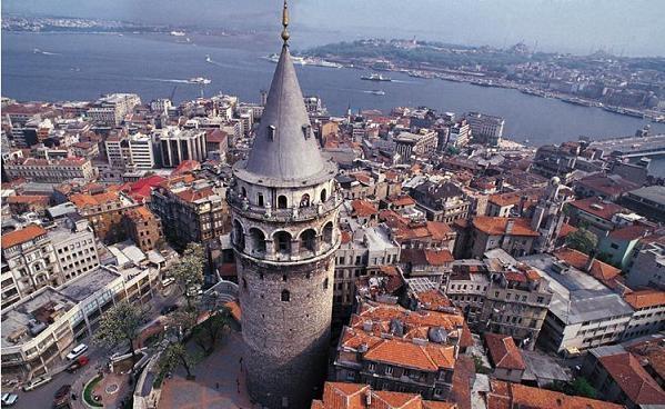 Кулата Галата в Истанбул