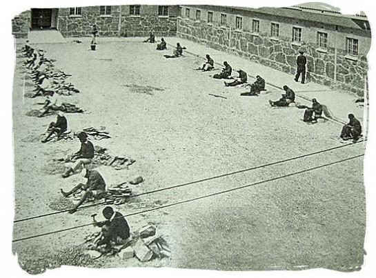 затвор в остров Робен