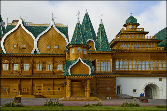 Музеят Коломенское отпред