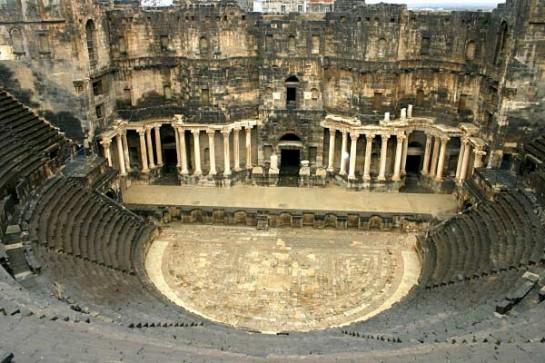 syria rome amphitheatre