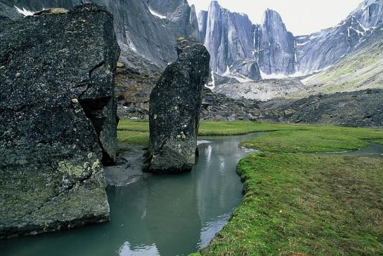 национален парк нахини в Канада